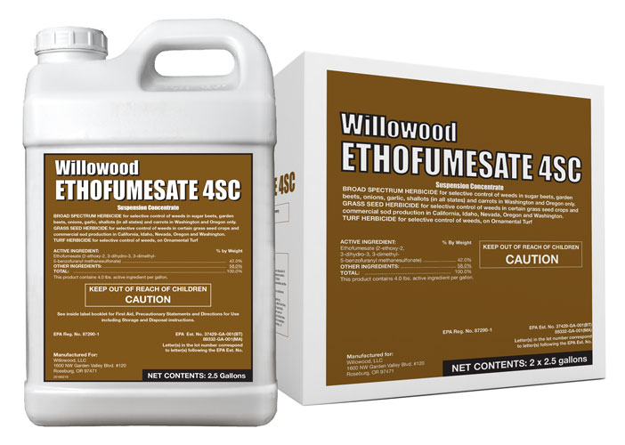 ETHOFUMESATE 4SC Box and Jug
